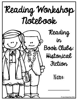 Reading Workshop - Book Club Unit (5th Grade No-Prep Student Notebook)