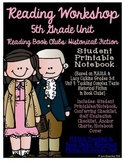 Reading Workshop - Book Club Unit (5th Grade No-Prep Stude