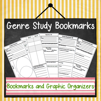 Reading Workshop Bookmarks & Graphic Organizers to Guide Student Reading