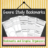 Genre Bookmarks and Graphic Organizers: Analyze Genre w/ Authentic Texts