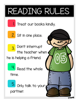 Reading Bulletin Board Posters
