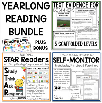Finding Proof - STAR Readers - Self-Monitoring - Reading Workshop Bundle