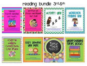 Reading Workshop Bundle: Grades 3-5