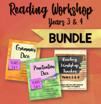 Reading Workshop Bundle for Years 3 & 4