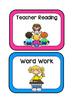 Reading Workshop Cards