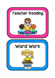 Reading Workshop Cards
