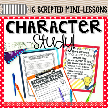 Reading Workshop Character Study Unit