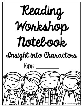 Reading Workshop - Characters (5th Grade No-Prep Student Notebook)