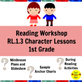 Reading Workshop Characters Lessons for 1st Grade