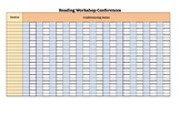 Reading Workshop Conference Templates