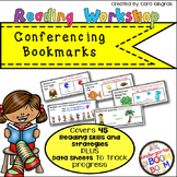 Reading Workshop Conferencing Bookmarks {K/1}