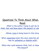 Reading Workshop Critical Skills Printable Strategy Chart