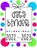 Reading Workshop Data Binder Sheets