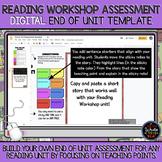 Reading Workshop End of Unit Assessment: DIGITAL Template