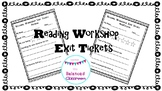 Reading Workshop Exit Ticket