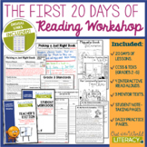 Reading Workshop First Month of School: STRESS FREE TEACHING!