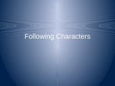 Reading Workshop: Following Characters