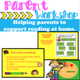 Reading Workshop- For Parents