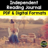 Independent Reading Journal Assignment | Distance Learning