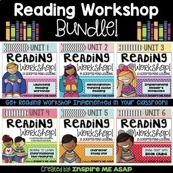 Reading Workshop Year-Long BUNDLE