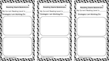 Reading Workshop Goal Bookmark