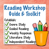 Reading Workshop Guide & Toolkit: 55 Mini-lessons, First 2