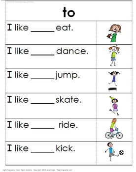 Reading Stations: Sight Word Pack1 with Activities