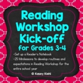 Reading Workshop Kick-off for Grades 3-4