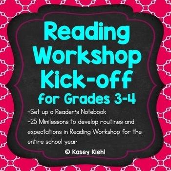 Reading Workshop Kick-off for Grades 3-4