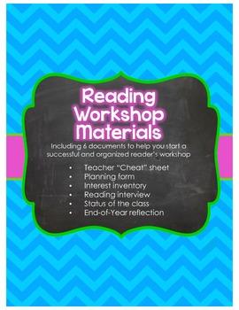 Reading Workshop Materials