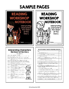 Lucy Reading Workshop - 4th Grade Notebook - Unit 1