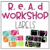Reading Workshop Labels