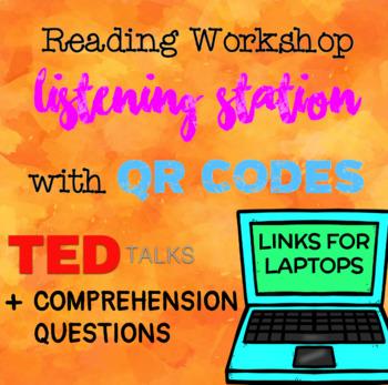 Reading Workshop Listen & Write FREEBIE