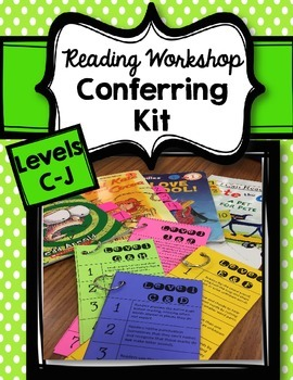 Reading Workshop Mentor Text Conferring Supports for Reading Levels C-J