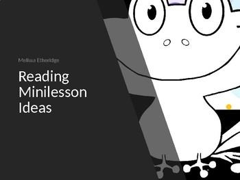 Reading Workshop Minilesson Ideas