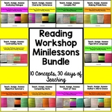 Reading Workshop Minilessons Bundle: Teach, Assign, Assess