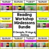 Reading Workshop Minilessons Bundle: Teach, Assign, Assess