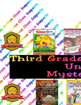 Reading Workshop Mystery Book Clubs Banner Bulletin Board Sign Poster