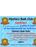 Reading Workshop Mystery Book Clubs Contract Worksheet Chart Lesson