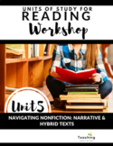 Reading Workshop: Navigating Nonfiction in Narrative and Hybrid Texts