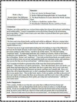Reading Workshop: Navigating Through Nonfiction - Unit 4 {Common Core Aligned}