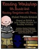 Reading Workshop - Nonfiction Unit (5th Grade No-Prep Stud