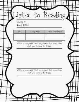 Reading Workshop Procedures