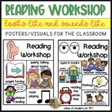 Reading Workshop Procedures Routines {Looks Like/Sounds Li