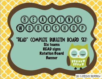 Reading Workshop Bulletin Board
