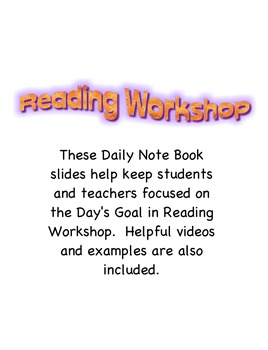 Reading Workshop- Readers Can Be Their Own Teachers