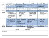 Reading Workshop Rubric (Editable)