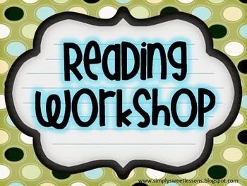 Reading Workshop Sign