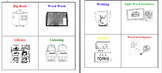 Reading Workshop Station Labels- Literacy Centers Labels