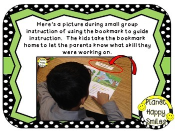 Reading Workshop Strategy Cards/Bookmarks + EDITABLE chart